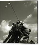 Old Washington Photo - Iwo Jima War Memorial Canvas Print