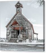 Old West Church Canvas Print