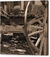 Old Western Wagon # 4 Canvas Print
