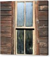 Old Western Window Canvas Print