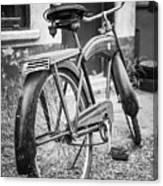 Old Wheels Canvas Print