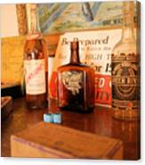 Old Whiskey Canvas Print