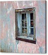 Old Window Canvas Print