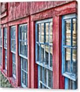 Old Windows Canvas Print