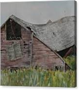 Old Wisconsin Barn Canvas Print