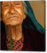 Old Women Canvas Print