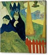Old Women Of Arles Canvas Print