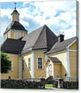 Old Wooden Church  Canvas Print