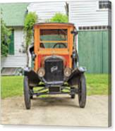 Old Woodie Model T Ford  Canvas Print