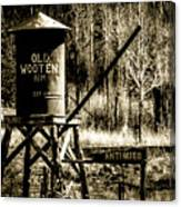 Old Wooten Canvas Print