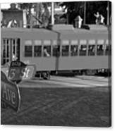 Old Ybor City Trolley Canvas Print