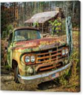 Oldie But Goodie 1959 Dodge Pickup Truck Canvas Print
