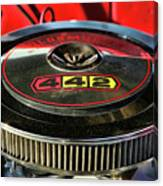 Olds 442 Air Cleaner Canvas Print