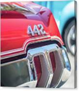Olds 442 Classic Car Canvas Print