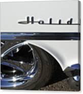 Oldsmobile Holiday Emblem Canvas Print