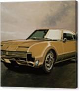Oldsmobile Toronado 1965 Painting Canvas Print