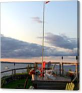 Ole Glory At Rossetti Point  Canvas Print