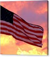 Ole Glory Canvas Print