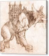 Oliphaunt Canvas Print