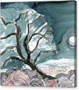 Olive Solstice Canvas Print