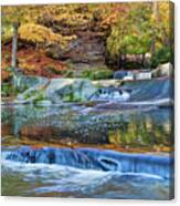 Olmsted Waterfalls Canvas Print