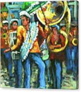 Olympia Brass Band Canvas Print