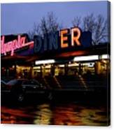 Olympia Diner Canvas Print