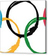Olympic Ensos Canvas Print