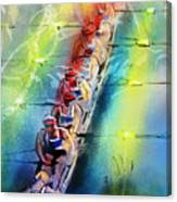 Olympics Rowing 02 Canvas Print