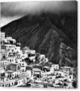 Olympos. Karpathos Island Greece Canvas Print