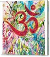 Om In Nature Canvas Print