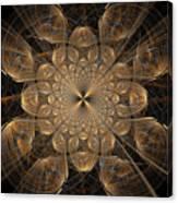 Om Particles Canvas Print