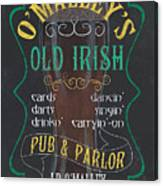 O'malley's Old Irish Pub Canvas Print