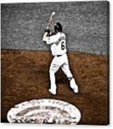 Omar Quintanilla Pro Baseball Player Canvas Print