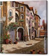 Ombre Per Strada Canvas Print