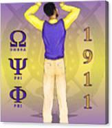 Omega Psi Phi Canvas Print