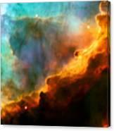 Omega Swan Nebula 3 Canvas Print