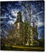Ominous Batsto Mansion Canvas Print