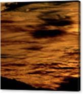 Ominous Orange Canvas Print