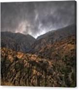 Ominous Skies Canvas Print