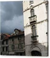 Ominous Sky In Croatia Canvas Print