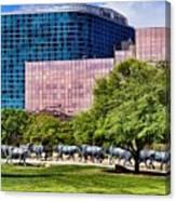 Omni Hotel Dallas Texas Canvas Print