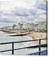 On Brighton's Palace Pier Canvas Print