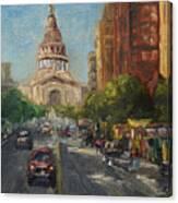 On Congress Canvas Print