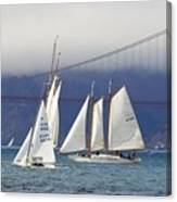 On Frisco Bay Canvas Print