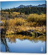 On Golden Pond Canvas Print