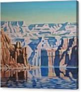 On Lake Powell Canvas Print
