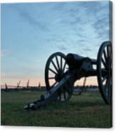 On The Battlefield Canvas Print