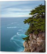 On The Cliff - Horizontal Canvas Print