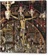 On The Cross Canvas Print